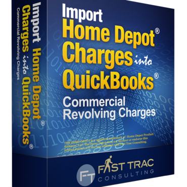Import Home Depot Charges into QuickBooks: Commercial Revolving Charges